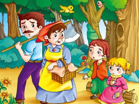 historias-navidenas-hansel-y-gretel-hermanos-grinn-dibujo