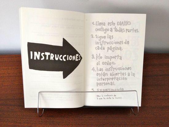 keri smith instrucciones rompe este diario