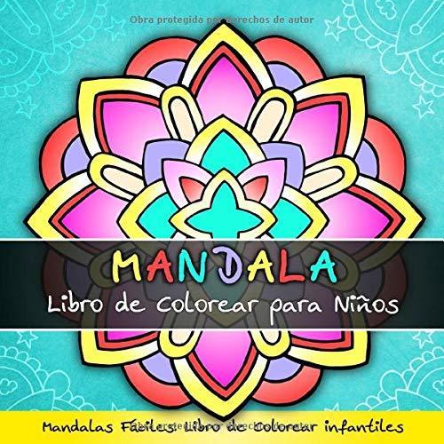los-mejores-libros-de-mandalas-Mandala libro de colorear para niños