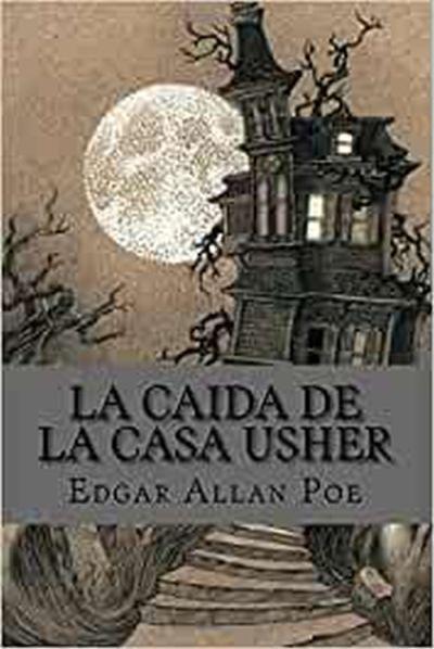 LIbro La caída de la casa Usher Allan Poe