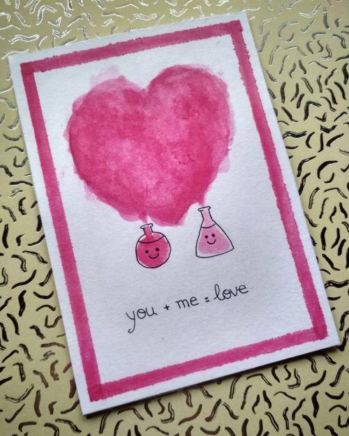 Tarjeta dibujo de corazón