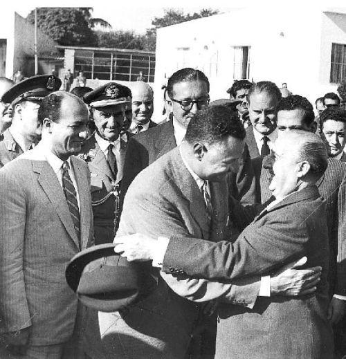 Franco con Gamal Abdel Nsser