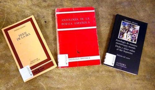 Libros antología de la poesía española