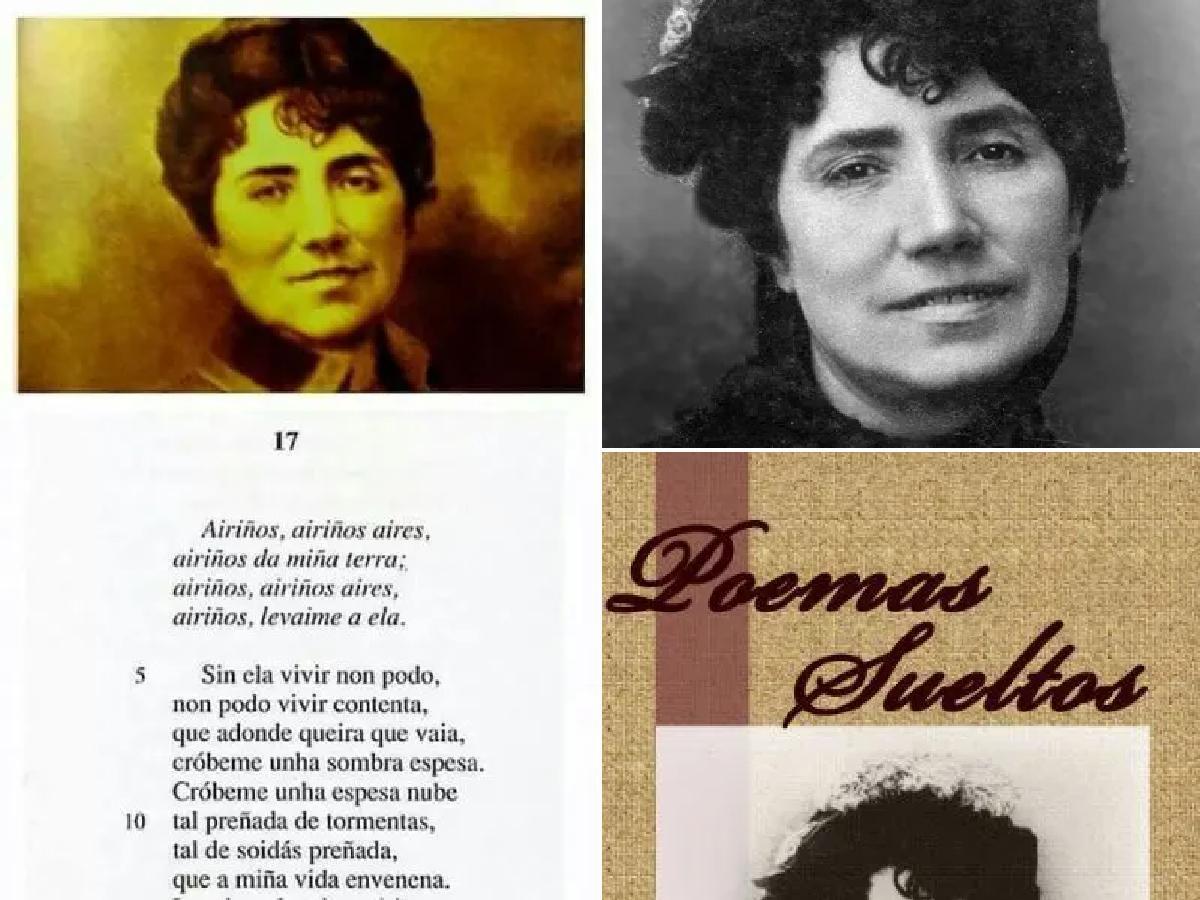 Rosalía de Castro poemas