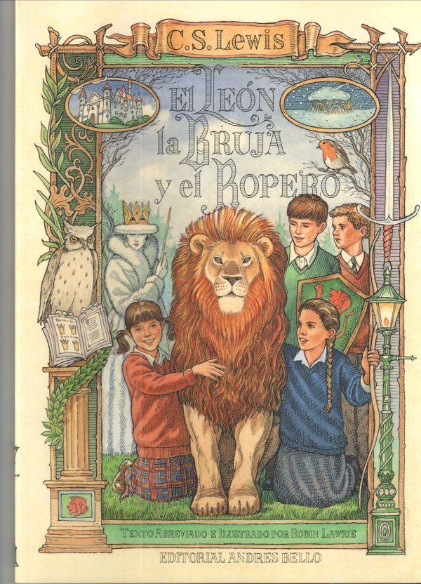 Mejores libros para jovenes El león, la bruja y el armario