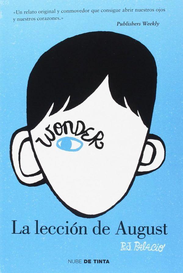 Mejores libros para jovenes Wonder, la elección de August