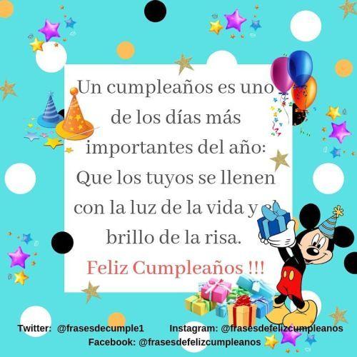 Felicitación cumpleaños Mickey con regalos