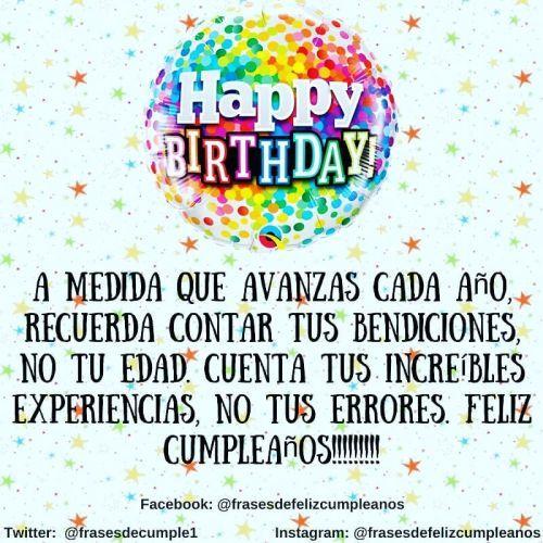 Tarjeta de felicitación cumpleaños Happy Birthay