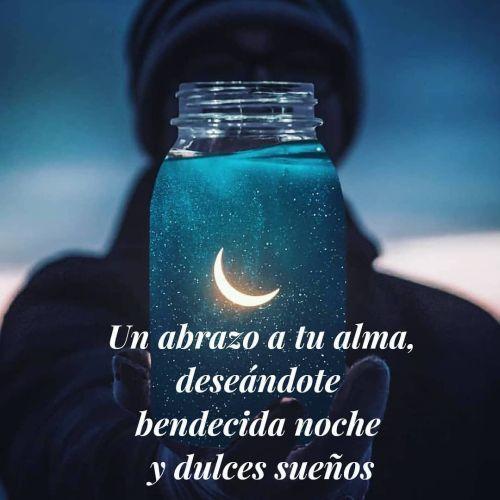 Abrazo a tu alma, buenas noches
