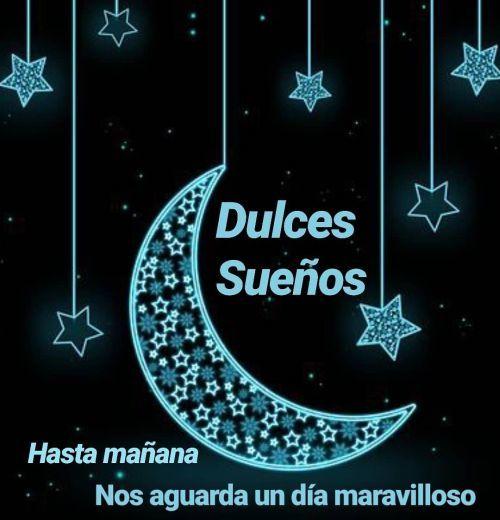 Dulces sueños luna