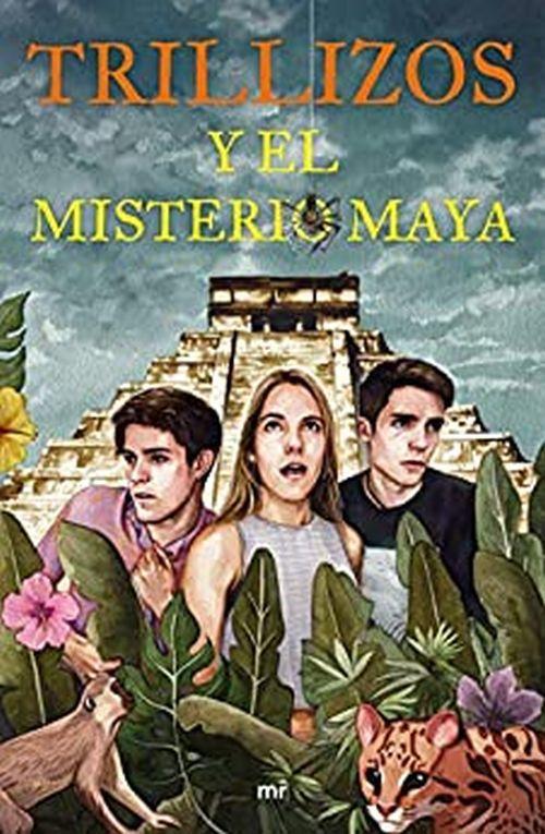 Trillizos y el misterio maya, libro