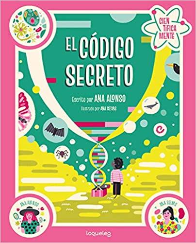 """""""El código secreto"""" libro infantil"""