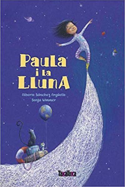 """""""Paula y la luna"""", libro infantil"""