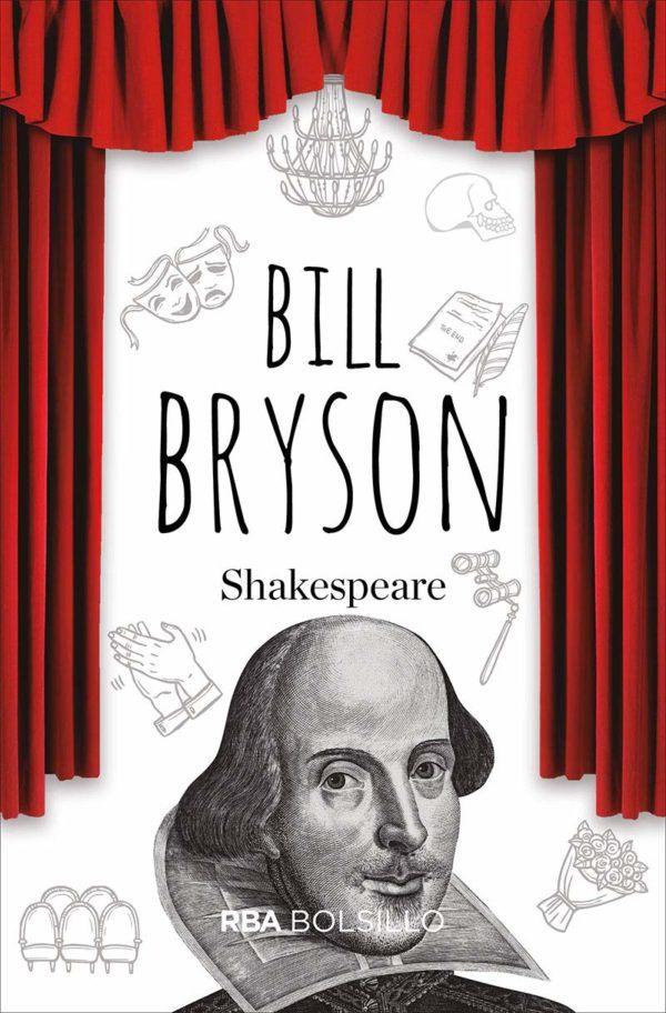 Mejores biografias escritores 2021 Shakespeare de Bill Bryson