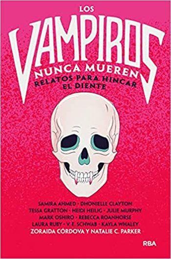 """""""Los vampiros nunca mueren"""", libro"""