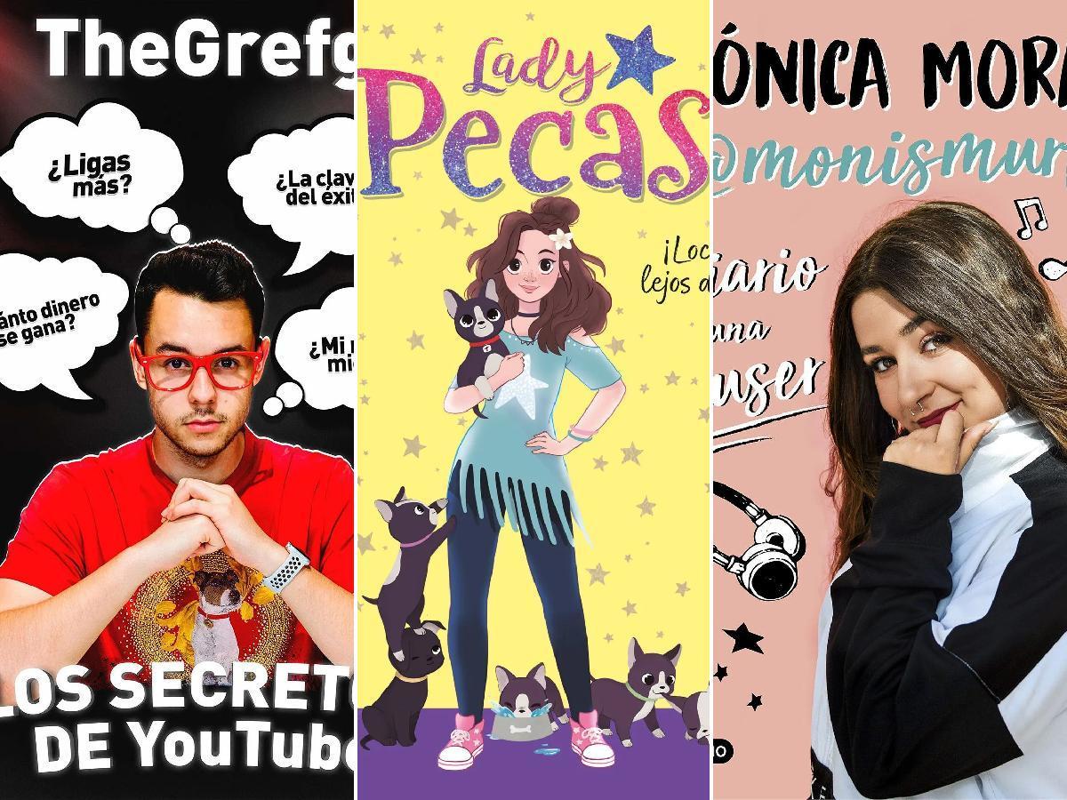 Los mejores libros de Youtubers 2022