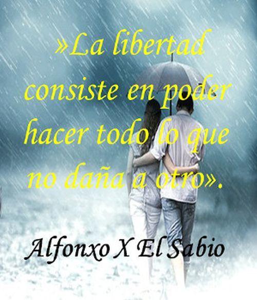 Frase de Alfonso X El Sabio