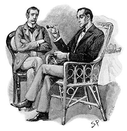 Sherlock Holmes de Arthur Doyle Sherlock-holmes-thomas-watson