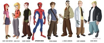 spectacular_spider-man_animated_character_designs