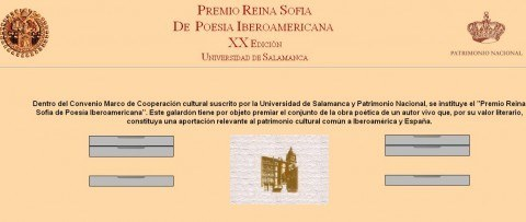 Premio Reina Sofia de Poesía Iberoamericana