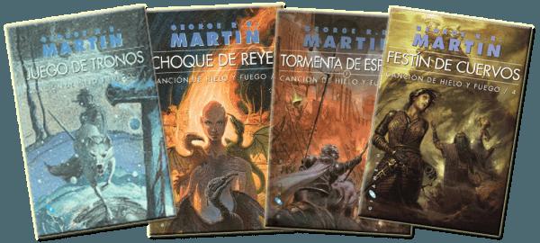 Orden de los libros Juego de Tronos - Espaciolibros.com