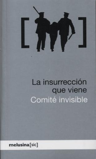 Libro La insurrección que viene