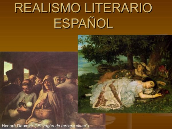 realismo literario español