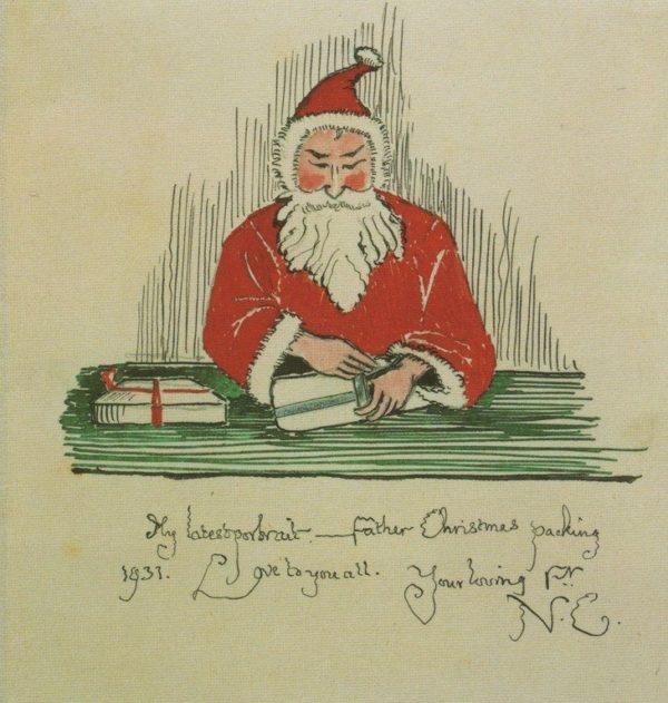 historias-navidenas-cartas-a-papa-noel-tolkien-dibujo
