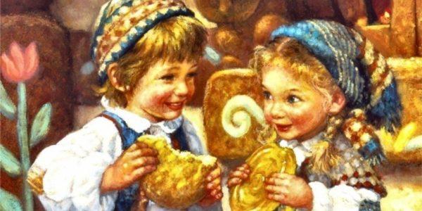 historias-navidenas-hansel-y-gretel-hermanos-grinn-pintura