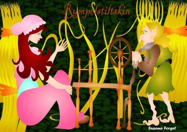 historias-navidenas-rumpelstiltskin-hermanos-grinn-dibujo