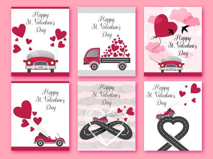 Tarjetas de amor para san valentin disenos